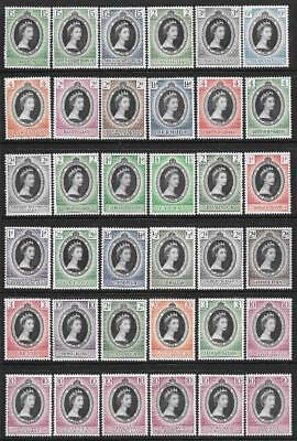 1953 Coronation Omnibus - Complete Set of 106 Stamps (MNH)