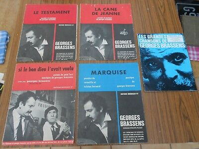 Lot Partition De Georges Brassens