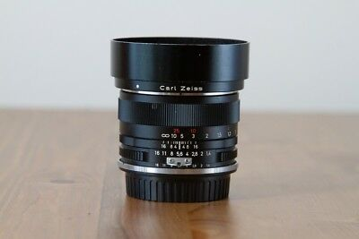 ZEISS Planar T 50mm f/1.4 ZF MF ZE Lens For Nikon (With included Canon Adapter)