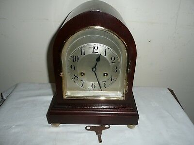 Antique, Junghans Mantle Clock in Great Condition & Working. Dated 1920.