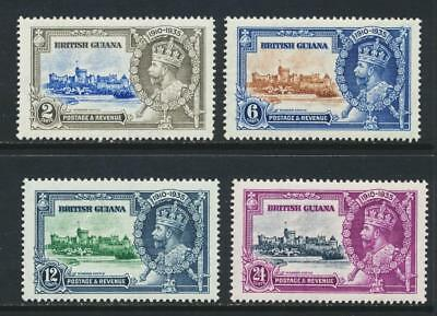 British Guiana 1935 Silver Jubilee Set, Vf Mlh (See Below Part Of An Omnibus)