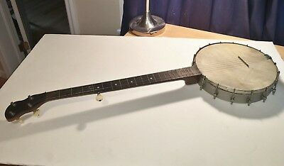 Antique 1930's-40's S S Stewart 5 String Banjo All Original Working And Beauty!