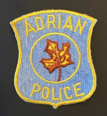 City of Adrian, Michigan Police Patch