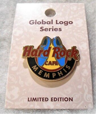 Hard Rock Cafe Memphis Limited Edition Global Logo Series Pin # 99567