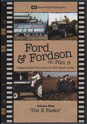 """Tractor Farming DVD: FORD & FORDSON ON FILM VOL.9 """"The X Factor"""""""