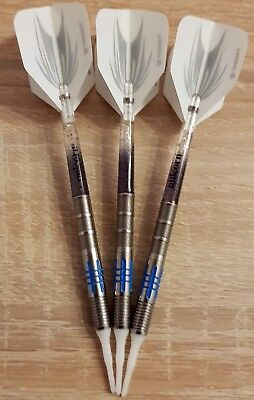 ONE80 Jetstream - Raptor - Softdart 90% Tungsten Barrel 18 gr + Zubehör Handmade