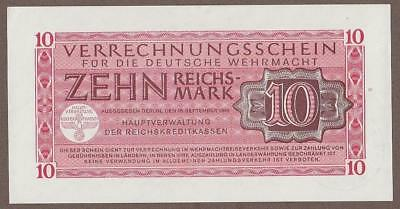 1944 Germany 10 Reichsmark Note Unc
