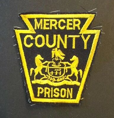 Mercer County Correction Prison Patch