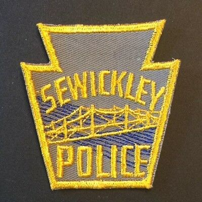 City of Sewickley, Pennsylvania Police Patch