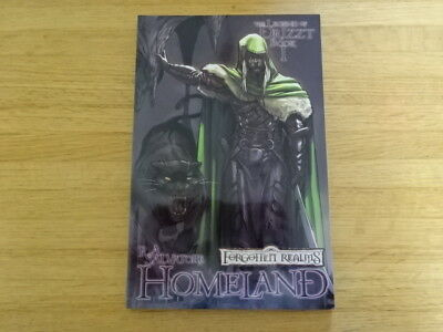 Rare Copy Of Forgotten Realms: The Legend Of Drizzt Book 1 Tpb Graphic Novel!
