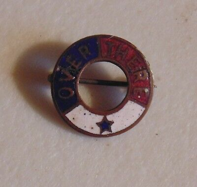 World War I WWI pin button military cause advertising campaign