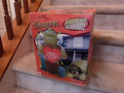 HUGE Inflatable Blow Up SHREK VALENTINES Day Yard Decor UNOPENED 8""