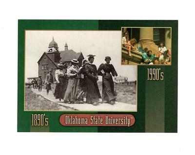 PICTURE POSTCARD -OKLAHOMA STATE UNIVERSITY-1890's to the 1990's