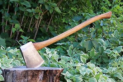 Beautiful Vintage Restored Hytest Forged Tools 4.5lb Tasmanian Patterned Axe