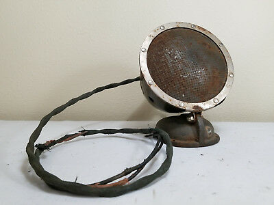 antique radio speaker 1940's 1950's art deco untested stereo cast iron broadcast