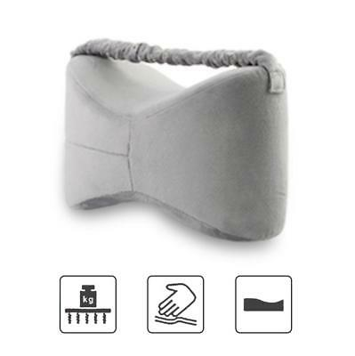 Bed Knee Pillow Sciatica Nerve Pain Relief Wedge Foldable Leg Pillow Memory HF