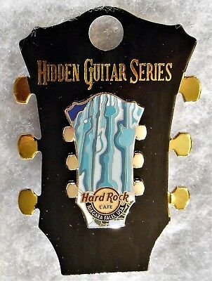 Hard Rock Cafe Niagara Falls Ny 2018 Limited Edition Hidden Guitar Series Pin