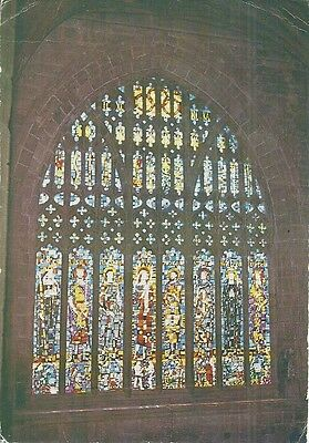 Stain Glass Window - West Window, Chester Cathedral, Cheshire,