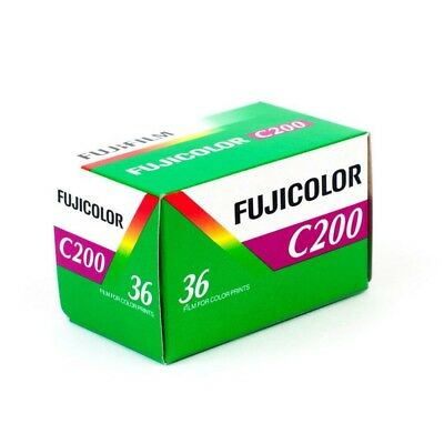 Fuji Fujifilm Fujicolor C200 35mm 135-36 Exposure Colour Print Film - 200ASA