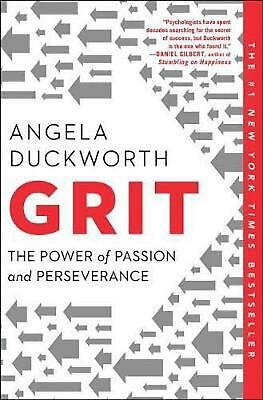 Grit: The Power of Passion and Perseverance by Angela Duckworth (English) Paperb