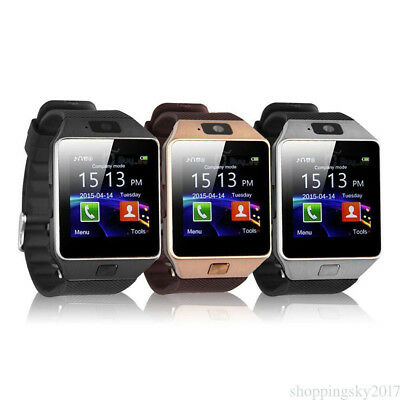 New Smart DZ09 Bluetooth Wrist Watch Phone Mate For Android Support SIM Card