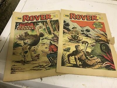 2 Rover Comics August & October 1971