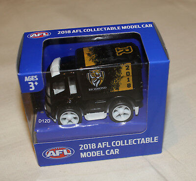 Richmond Tigers 2018 AFL Official Supporter Collectable Mini Truck Model New