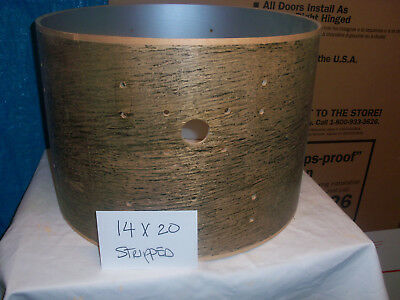 Gretsch USA Custom Drum Shell 14x20 Raw Stripped 6 Ply New Old Stock