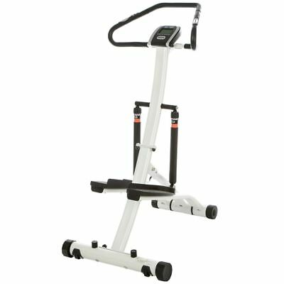 Stepper Dispositivo de Fitness Piernas Handpulssensor Bicicleta Estática Display