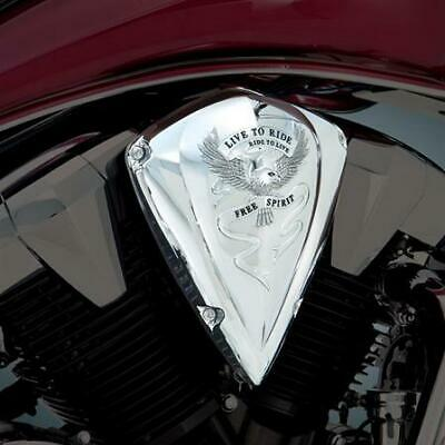 Honda VT1300 Fury Interstate Sabre Statelin Show Chrome Air Cleaner Cover 55-354