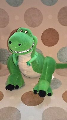 Large 16 inch tall Rex the Dinosaur of Disney Pixar Toy Story soft toy