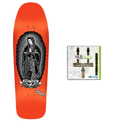 Santa Cruz Skateboard Deck Old School Jessee Guadalupe + Sk8ology Wall Mount