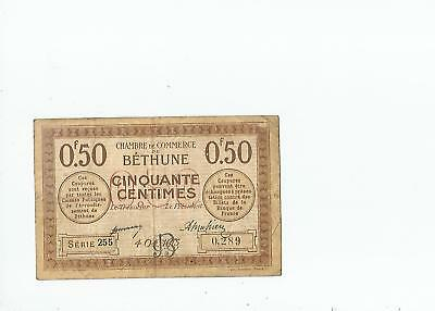 Bethune  50  Centimes