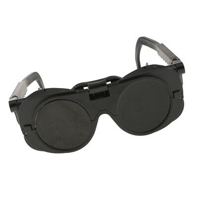 Welding Cutting Welders Safety Soldering Goggles Glasses Flip Up Lenses