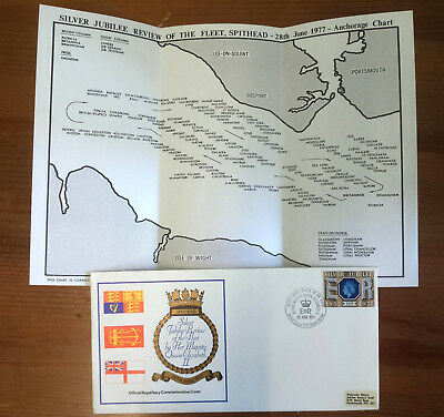 Spithead Review Official RN Commemorative Cover