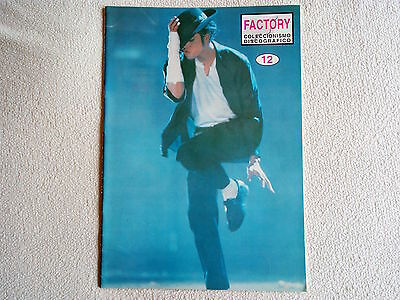 Michael Jackson Factory Mega Rare Spanish Magazine Catalogue Revista No Promo Cd
