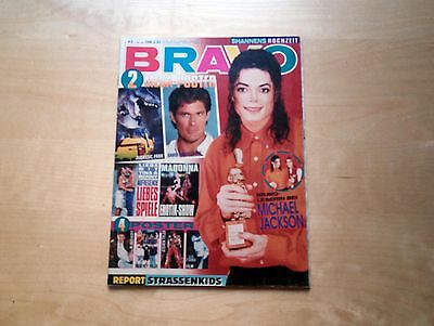 Michael Jackson Bravo Mega Rare German Magazine Revista No Promo Cd Madonna 1993
