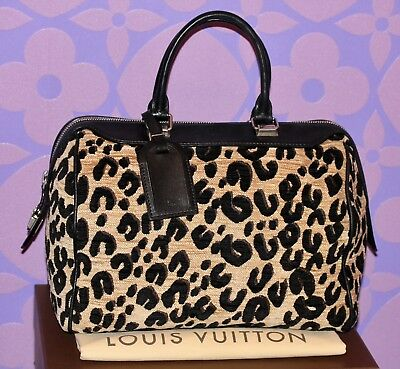 c0b884df38fd Louis Vuitton Sprouse LEOPARD Speedy 30 Bag Automne-Hiver  LIMITED RUNWAY   WOW!