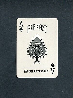 SPADE ACE: Far East Playing Cards - 1 Single Swap / Playing Card