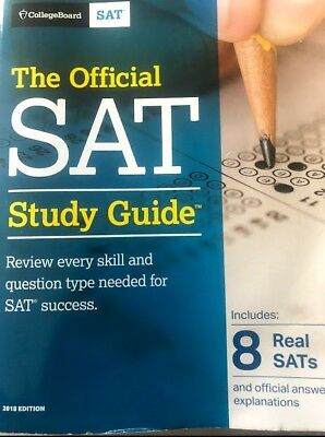 CollegeBoard The Official SAT Study Guide (2018 Edition)