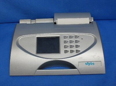 Vitalograph Alpha Model 6000 Spirometer No Charger