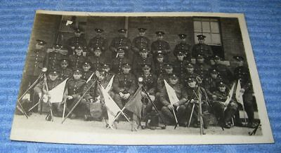 WW1-Era RP Postcard Group of British Soldiers Signal Flags
