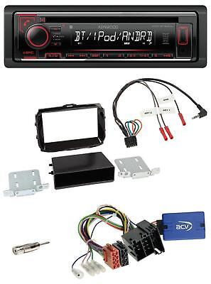 Kenwood MP3 USB Bluetooth Lenkrad CD Autoradio für Alfa Romeo Giulietta 13-14 pi
