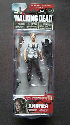 The Walking Dead - Mcfarlane - Serie 4 - Andrea - Neu & OVP - RAR