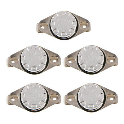 5 Pieces KSD301 110-140 Celsius Normal Open Temperature Switch 10A 250V New
