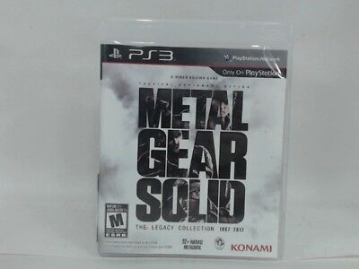 Metal Gear Solid: The Legacy Collection Playstation 3 Ps3 Complete Cib Very Good