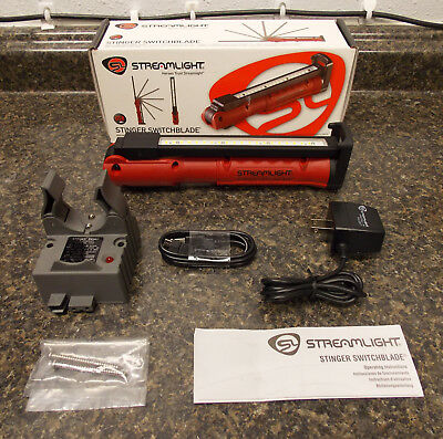 Streamlight Stinger Switchblade Rechargeable Work Light - NEW