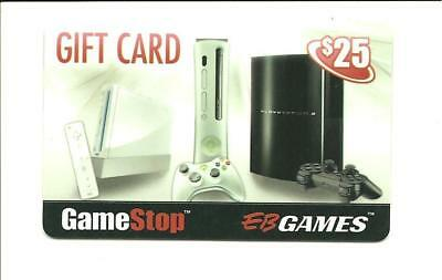 Gamestop with Gaming Systems Gift Card No $ Value Collectible