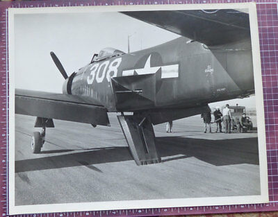 Authentic Vintage Military Aircraft 8x10 Photo Military Estate Martin AM-1 308?