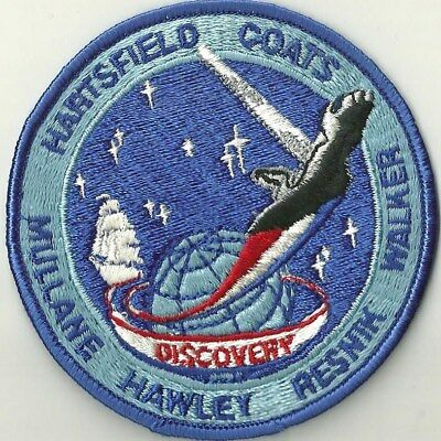 Nasa Space Shuttle Sts-41D Mission Patch